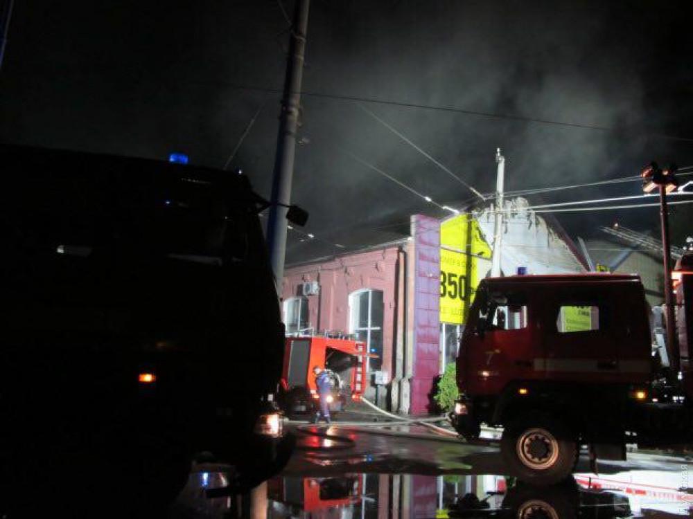 пожар в одесской гостинице Токио Стар