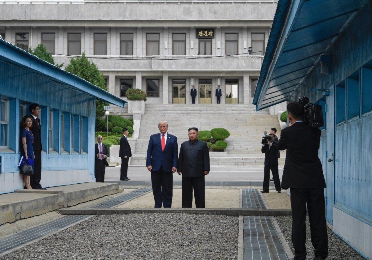 Трамп в Северной Корее