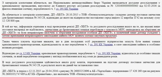 Схеми в Укроборонпромі