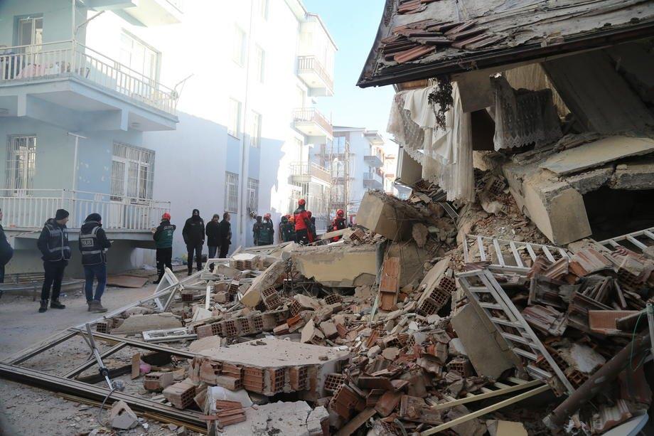 Землетрясение в Турциии